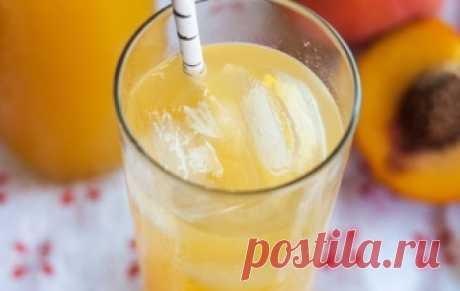 «Игристые персики» / Фруктовые напитки / TVCook: пошаговые рецепты с фото