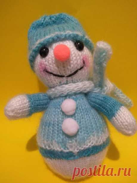 Новогодний подарок - снеговик. Вязаные игрушки - подарок любимым: Каталог