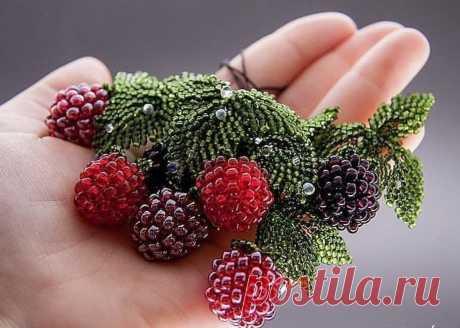 Как сделать ягоды из бисера: мастер-класс — Сделай сам, идеи для творчества - DIY Ideas