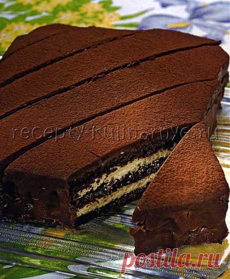 Торт Трюфель - Кулинарные рецепты с фото - Торты с фото - Торты