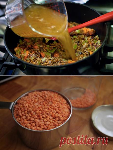 Ошибки приготовления чечевицы