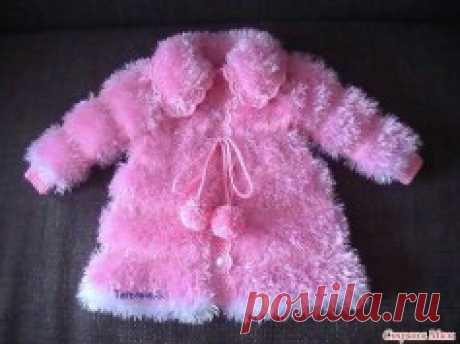 Это потрясающее пальто для малышки завораживает своей красотой (Вязание спицами) — Журнал Вдохновение Рукодельницы