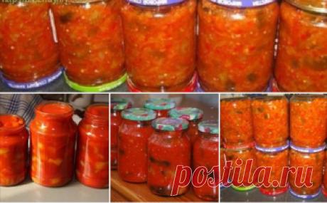 10 Заготовок на зиму к макаронам Желаю вам вкусных салатов!