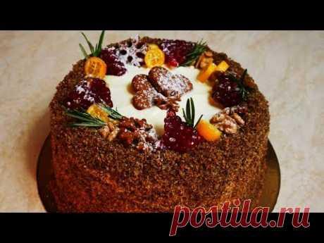ВКУСНЕЙШИЙ торт с ароматом АПЕЛЬСИНА согреет ВСЕХ в холодную зиму