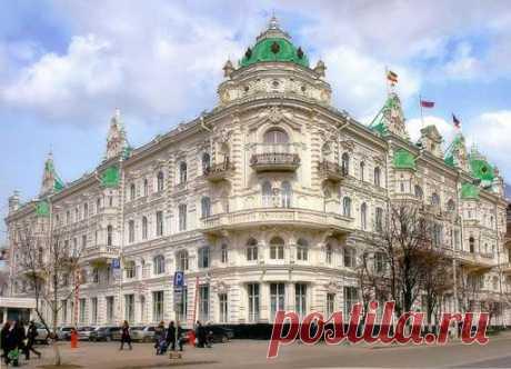 Самые красивые здания в Ростове-на-Дону (10 фото) . Тут забавно !!!