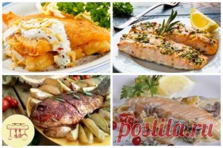 5 рецептов вкусных рыбных блюд   #рыба