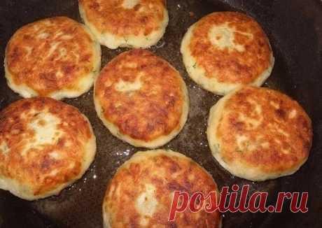Как приготовить котлеты из картофеля, сыра и укропа с грибами + соус - рецепт, ингридиенты и фотографии