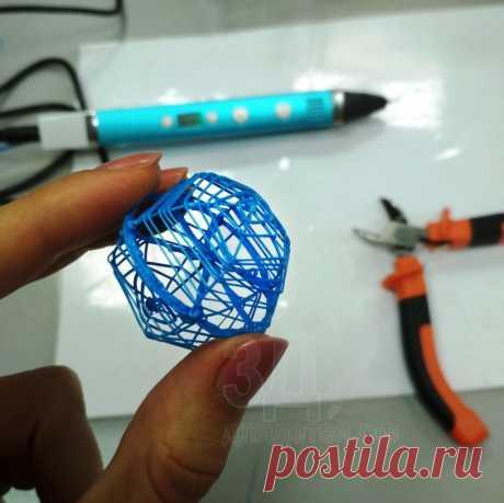 Поделки 3D ручкой. От простого к сложному . Подробные видео-уроки!