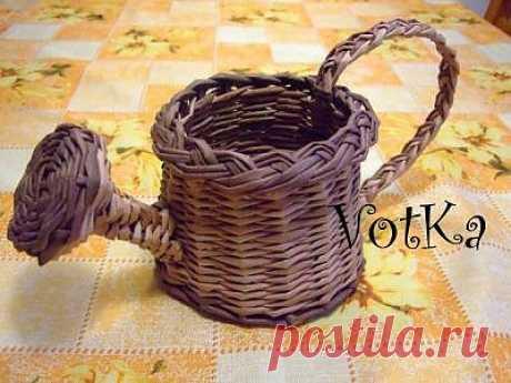 Плетение лейки / Работа с бумагой / PassionForum - мастер-классы по рукоделию