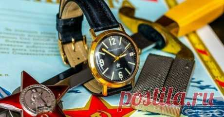 10 культовых наручных часов из СССР