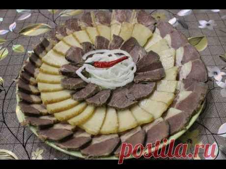 Жал - казахский деликатес  из конины.