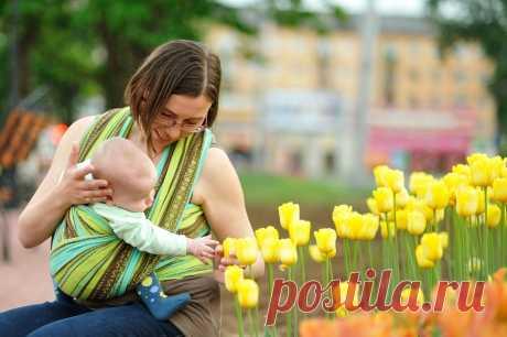 С какого возраста можно носить ребенка в кенгуру или слинге | Семья и мама