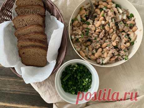 Беру банку консервов, фасоль и готовлю салат (мой муж, который не любит фасоль, ест её только так) | Сладкий Персик 🍑 | Яндекс Дзен