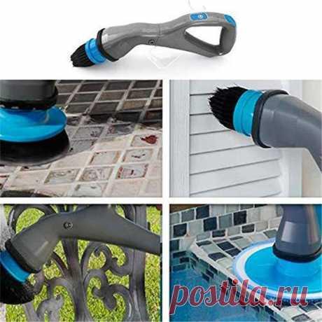 Электрическая щетка для чистки с насадками, 4 шт./компл.|Чистящие щетки| | АлиЭкспресс