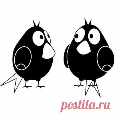 Трафареты. птицы. — Сделай сам, идеи для творчества - DIY Ideas
