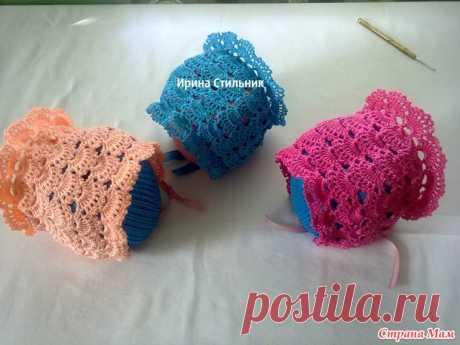 Чепчики для малышей - Вязание - Страна Мам