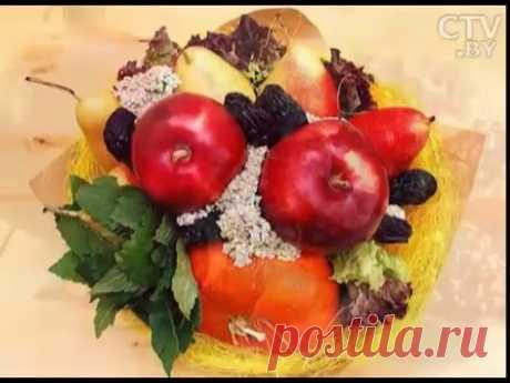 Тренды во флористике: как создать красивый и вкусный фруктовый букет?