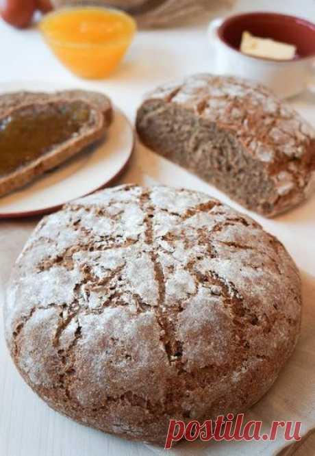 Ржаной хлеб по рецепту Ришара Бертине - Childrens_menu