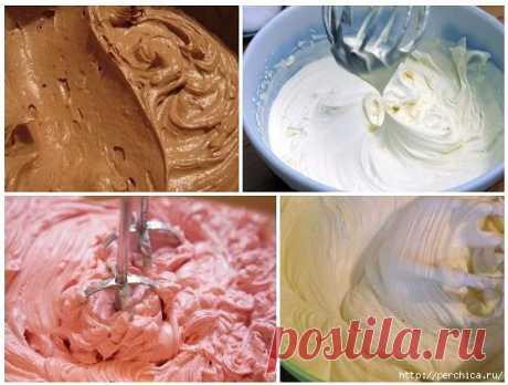 Сохраните в копилку - Топ 8 самых простых кремов для тортов