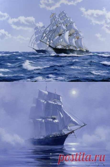 Английский художник James Bretton