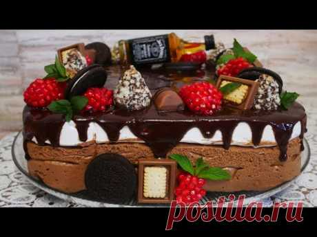 Торт ПТИЧЬЕ МОЛОКО по-НОВОМУ.ТОРТ ПАПЕ. Шоколадное ПТИЧЬЕ МОЛОКО и ЗЕФИРНЫЙ КРЕМ СУФЛЕ