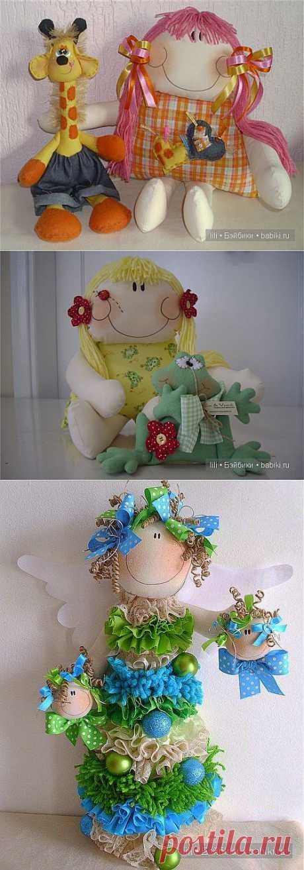 Авторские мягкие куколки Atelier Eu & Voce by Andrea Malheiros / Авторские текстильные куклы и другие игрушки / КлуКлу. Рукоделие - бисероплетение, квиллинг, вышивка крестом, вязание