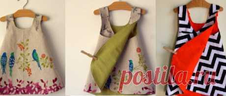 Платье-конверт...........размер  от 1месяца до 10 лет