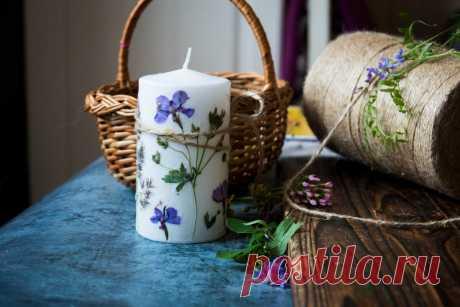 Полевые цветы, утюг и свечка - все, что нужно для необычного летнего рукоделия! Детям - точно понравится!   Живые вещи   Яндекс Дзен