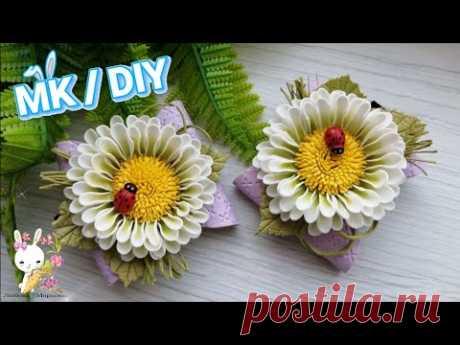 Они просто ВЗОРВАЛИ мой Инстаграм! Всего 4 кружка - и весенний цветок готов! DIY Блестяшки