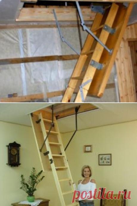 Чердачные лестницы своими руками - Nebka.Ru
