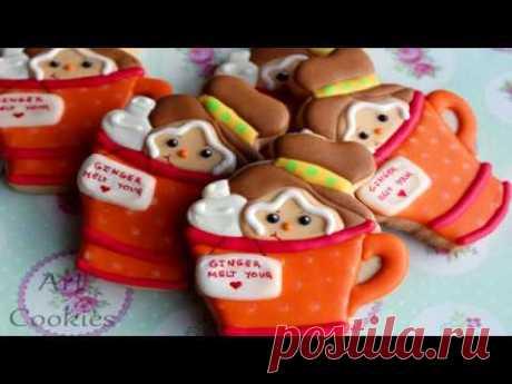 Galletas con Chocolate en una Galleta