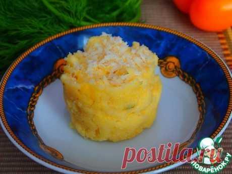 Полента с пармезаном - кулинарный рецепт