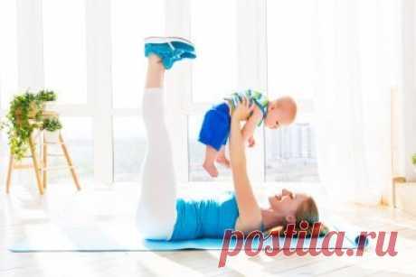 Убираем живот после беременности: упражнения «Вакуум» и «Наули»