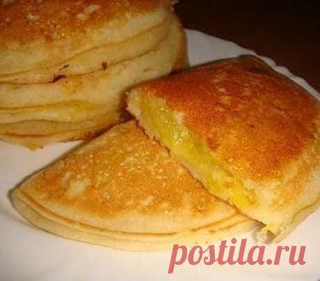 Блинчики пирожки - рецепты с фото