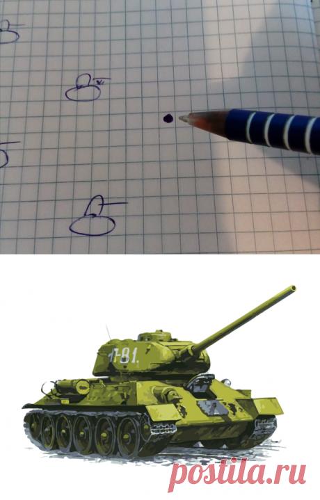 Мы раньше играли в танки в школьных тетрадках, и противостояние было нешуточным | 💾 Холостяцкий геймер | Яндекс Дзен