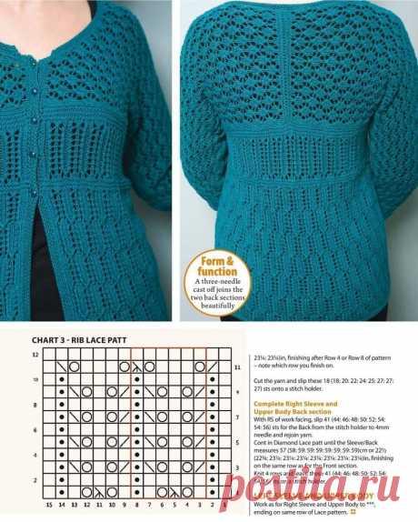 Всё о вязаных жакетах спицами❤. | Asha. Вязание и дизайн.🌶 | Яндекс Дзен