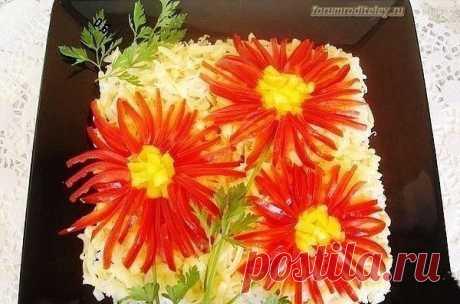Салат Астра :: социальная сеть родителей https://forumroditeley.ru/viewtopic.php?t=8112 Рецепт приготовления салата Астра прост в приготовлении!