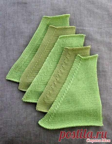 . Как красиво делать убавления в вязании спицами - Вязание - Страна Мам