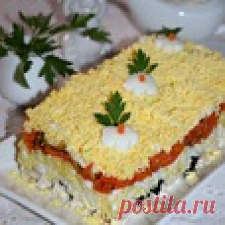 """Салат """"Рандеву"""" Кулинарный рецепт"""