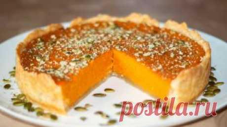 Тыквенный пирог с апельсином - нежный и душистый! Великолепный десерт!