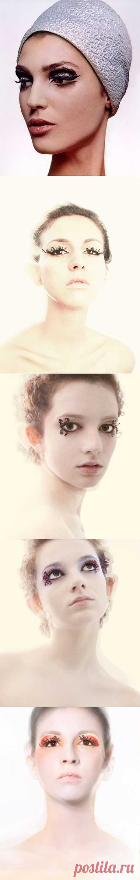 Las pestañas de encajes \/ el Maquillaje\/manicura \/ el sitio A la moda sobre el rehacimiento de estilo de la ropa y el interior