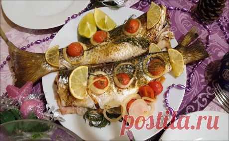 Пеленгас запеченный в фольге в духовке рецепт с фото - 1000.menu