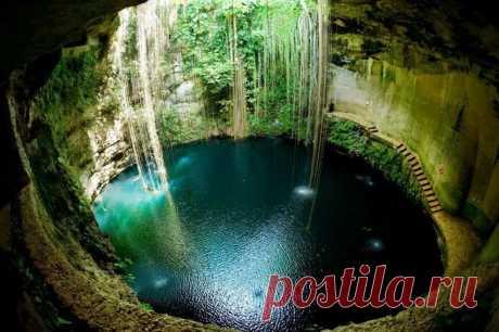 Одно из красивейших мест в Мексике