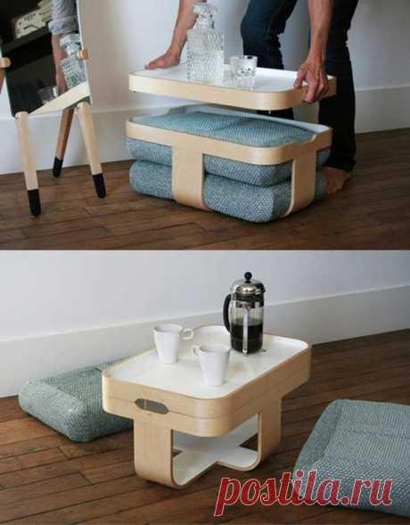 Разборный столик для чаепития