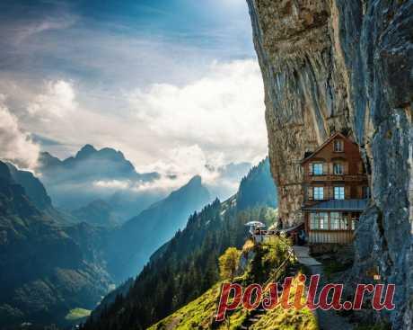 24невероятных отеля, вкоторых хочется оказаться прямо сейчас