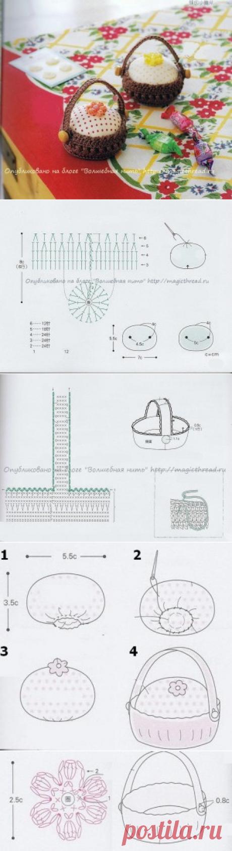 frontura «paniere a maglia» | filo magico