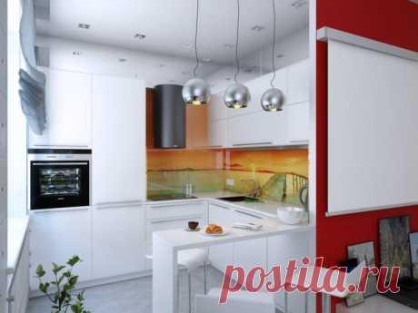 Дизайн интерьера квартиры-студии 47 кв. м.