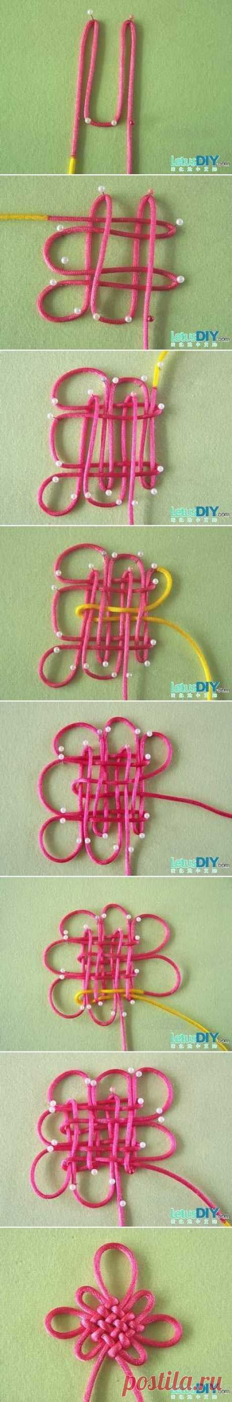 DIY Chinese New year ornament with great Chinese knot …