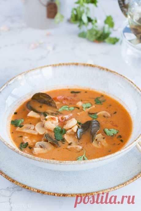 Лучший рецепт супа Том Ям ⋆ Великолепная еда и места