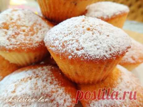 Самые вкусные кексы на кефире, которые я пробовала - Простые рецепты Овкусе.ру